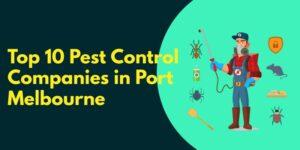 Top 10 Pest Control Companies in Port Melbourne